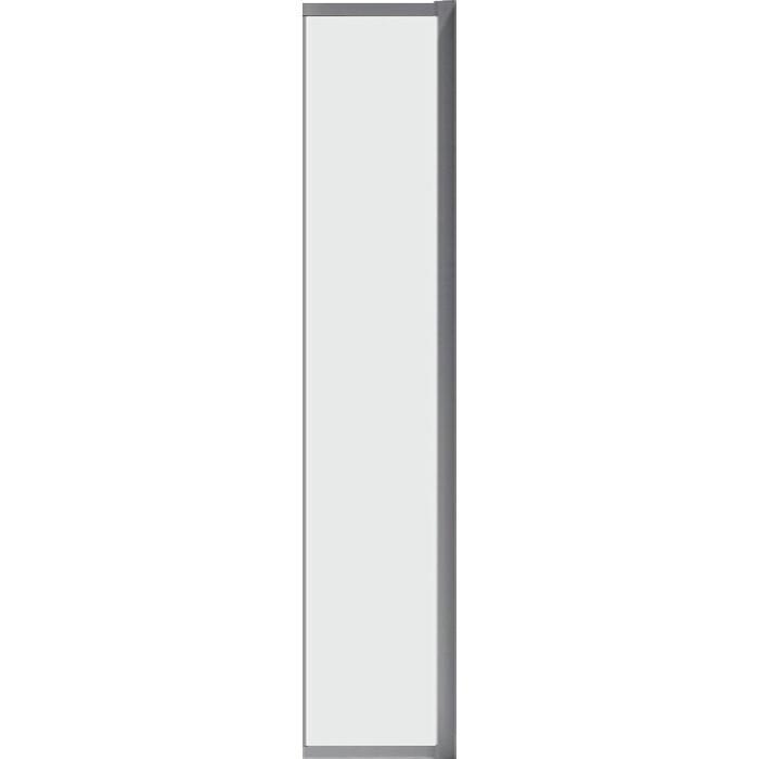 Универсальная боковая панель Cezares Molveno FIX 30x190 прозрачная, хром (MOLVENO-FIX-30-C-Cr-IV)