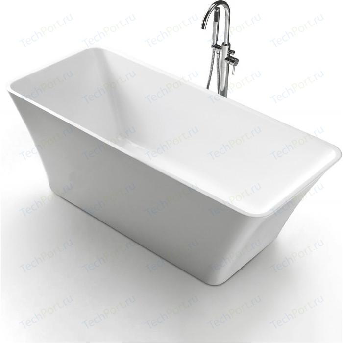 Акриловая ванна BelBagno 170x80 слив-перелив хром (BB60-1700-800)