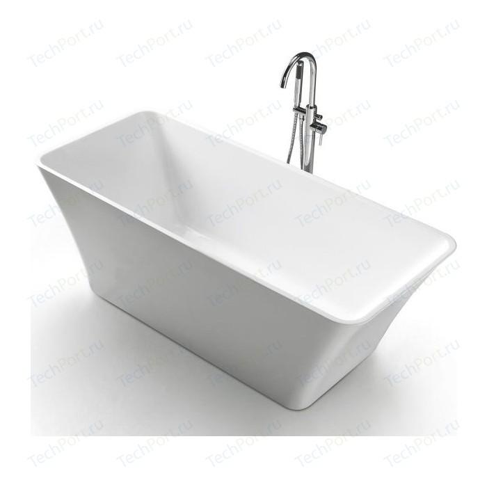 Акриловая ванна BelBagno 180x75 слив-перелив хром (BB60-1800-750) недорого