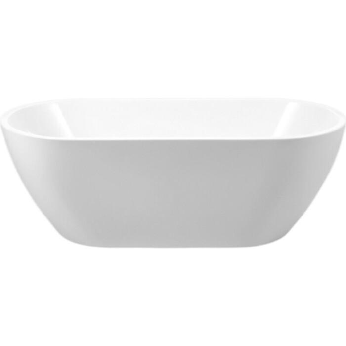 Акриловая ванна BelBagno 150x80 слив-перелив хром (BB70-1500-800)