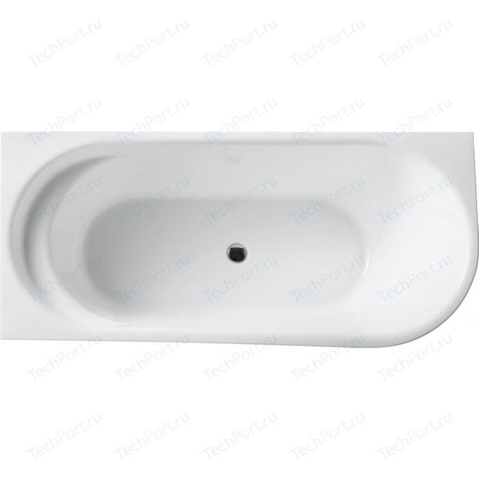 Акриловая ванна BelBagno 150x78 левая, слив-перелив хром (BB410-1500-780-L)