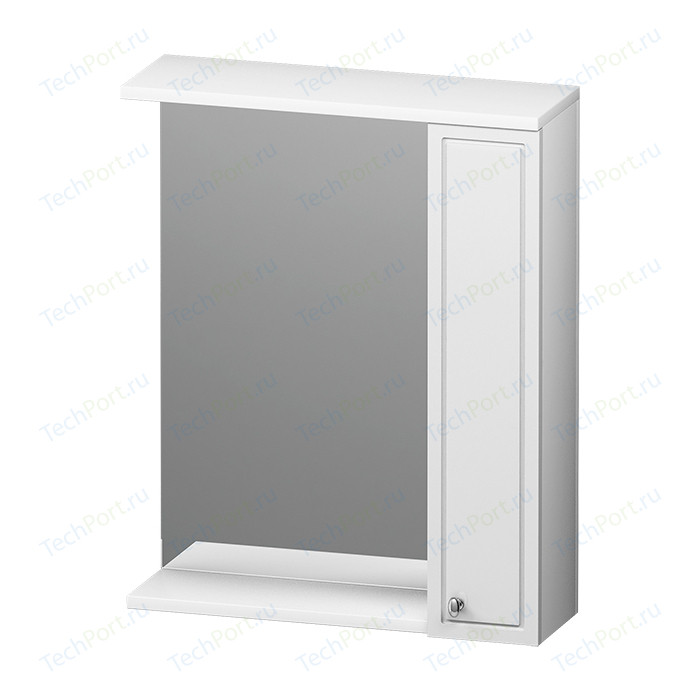 Зеркальный шкаф RedBlu by Damixa Palace One 60 правый, белый глянец (M41MPR0601WG)