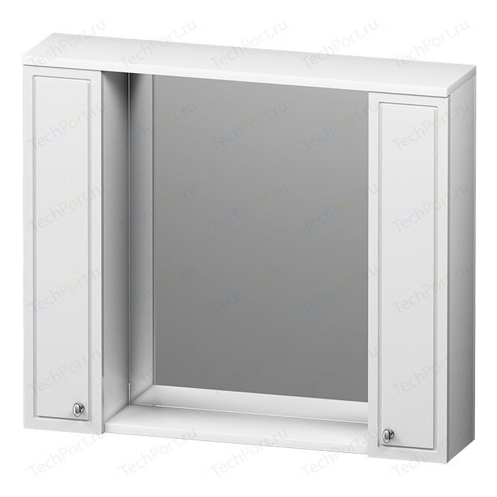 Зеркальный шкаф RedBlu by Damixa Palace One 85 белый глянец (M41MPX0851WG)