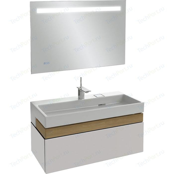 Мебель для ванной Jacob Delafon Terrace 100 белый блестящий