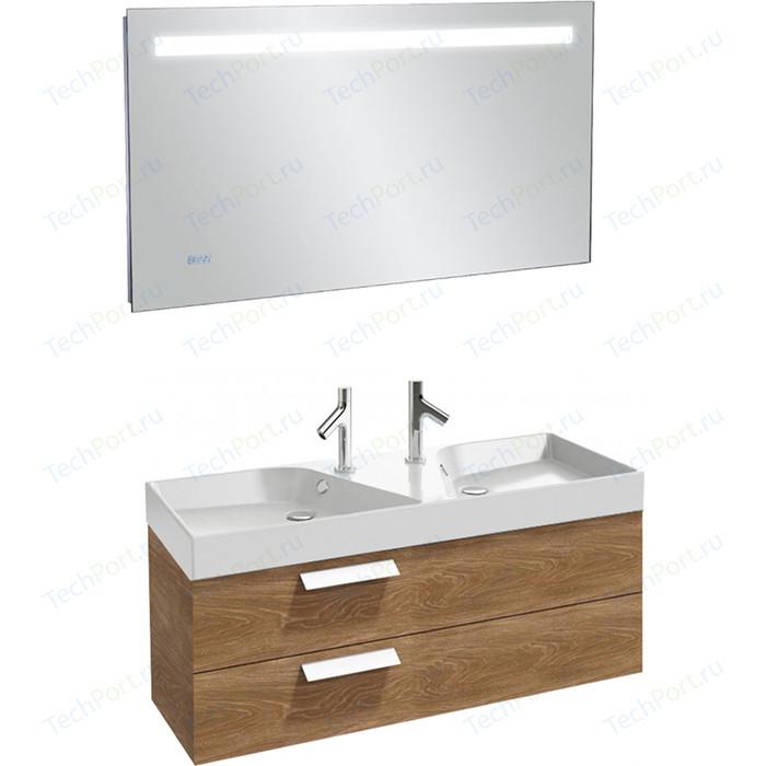 Мебель для ванной Jacob Delafon Rythmik 120 арлингтонгский дуб