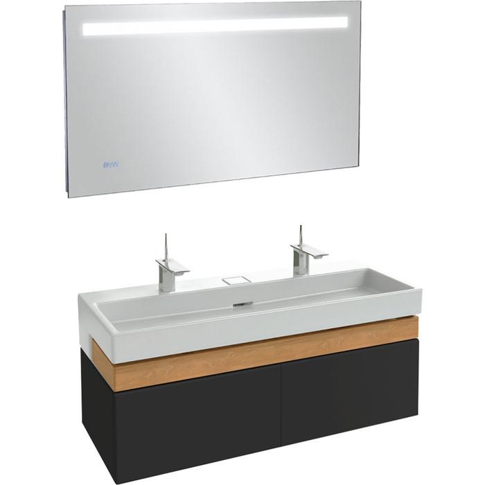 Мебель для ванной Jacob Delafon Terrace 120 черный лак