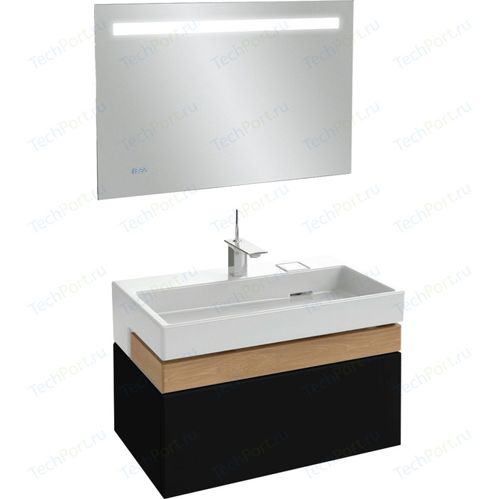 Мебель для ванной Jacob Delafon Terrace 100 черный