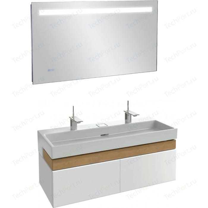 Мебель для ванной Jacob Delafon Terrace 120 белый блестящий