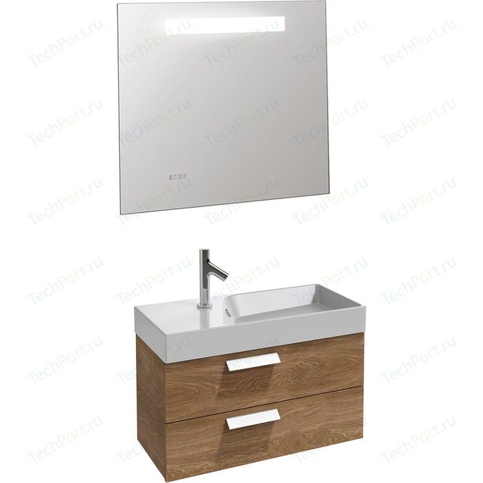 Мебель для ванной Jacob Delafon Rythmik 80 арлингтонгский дуб