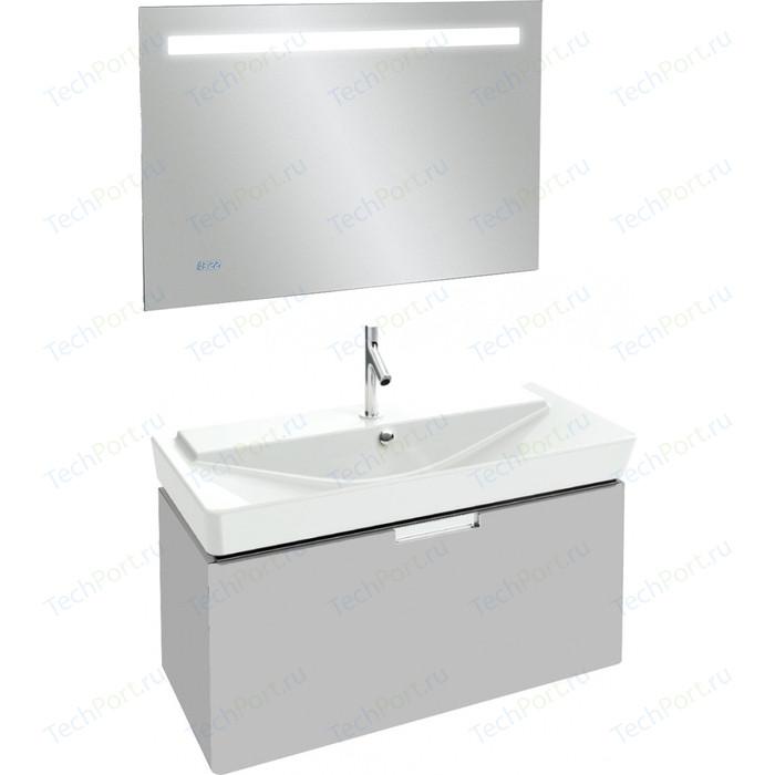 Мебель для ванной Jacob Delafon Reve 100 белый блестящий, 1 ящик