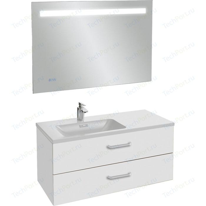 Мебель для ванной Jacob Delafon Vox 100 белый, левая