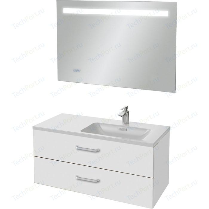 Мебель для ванной Jacob Delafon Vox 100 белый, правая
