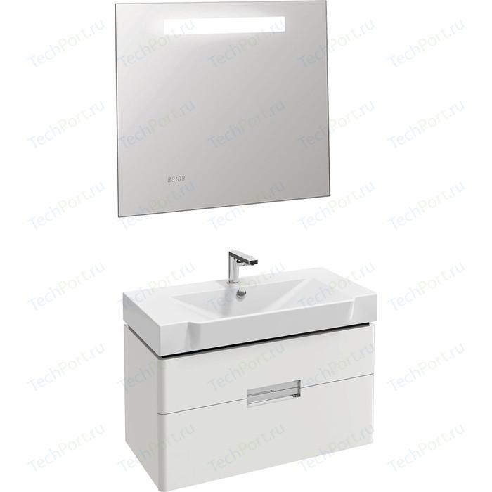 Мебель для ванной Jacob Delafon Reve 80 белый блестящий, 2 ящика