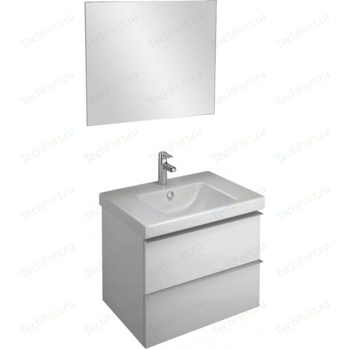 Мебель для ванной Jacob Delafon Odeon Up 70 белый, 2 ящика