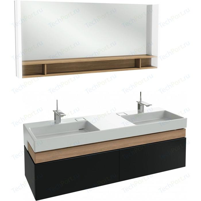 Мебель для ванной Jacob Delafon Terrace 150 черный лак