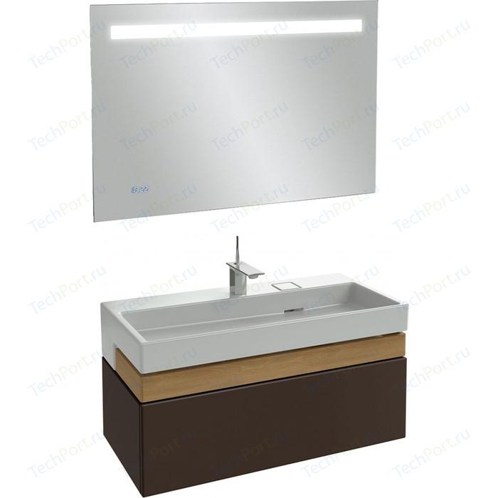 Мебель для ванной Jacob Delafon Terrace 100 ледяной коричневый