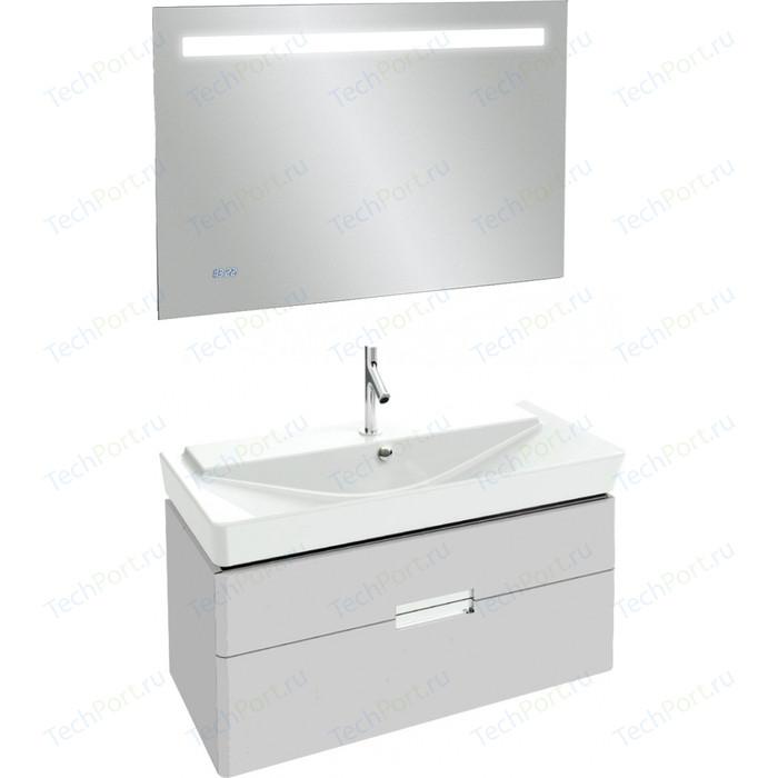 Мебель для ванной Jacob Delafon Reve 100 белый блестящий, 2 ящика