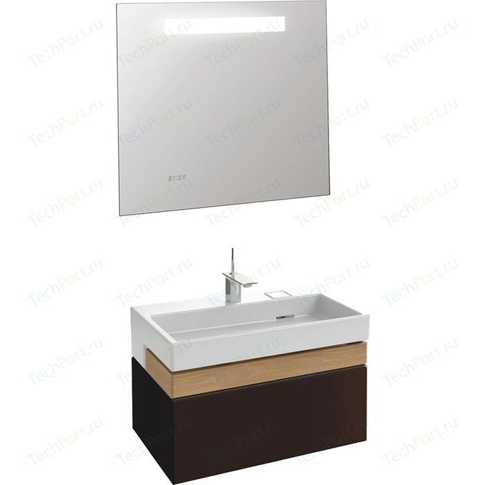 Мебель для ванной Jacob Delafon Terrace 80 ледяной коричневый