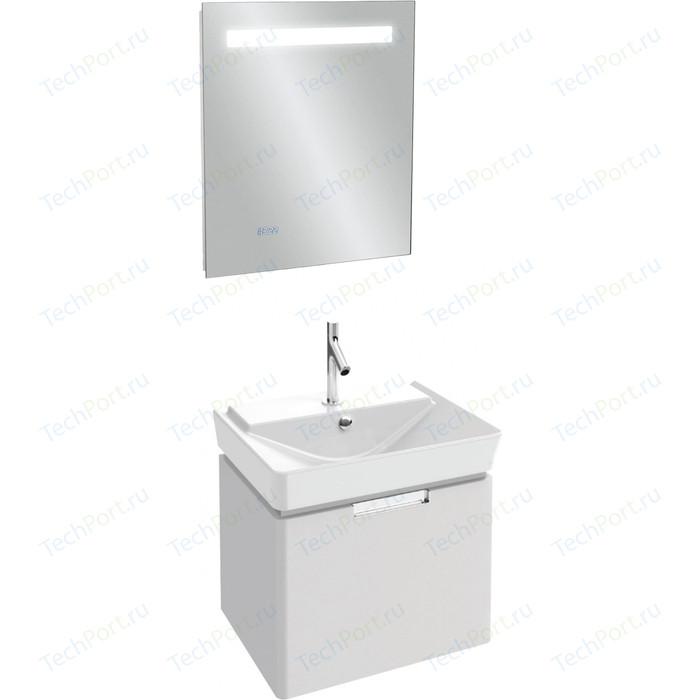 Мебель для ванной Jacob Delafon Reve 60 белый блестящий, 1 ящик