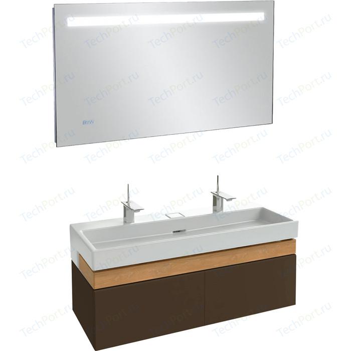 Мебель для ванной Jacob Delafon Terrace 120 ледяной коричневый