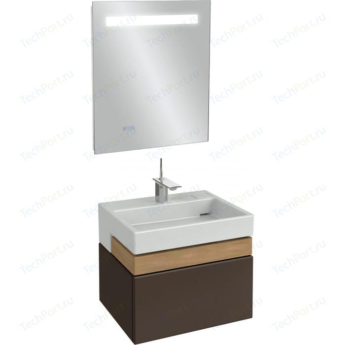 Мебель для ванной Jacob Delafon Terrace 60 ледяной коричневый