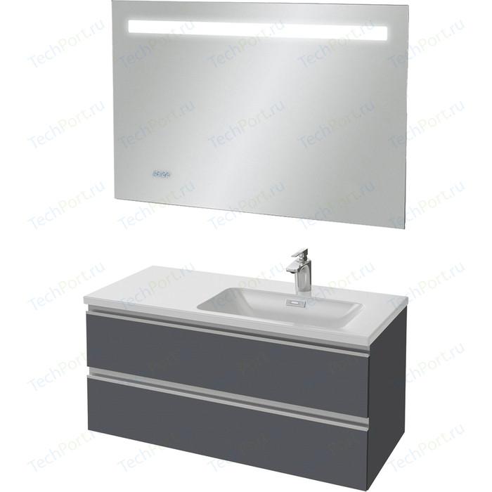 Мебель для ванной Jacob Delafon Vox 100 серый антрацит