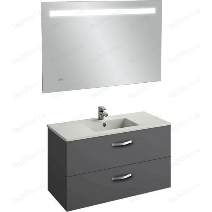 Мебель для ванной Jacob Delafon Ola 100 серый антрацит