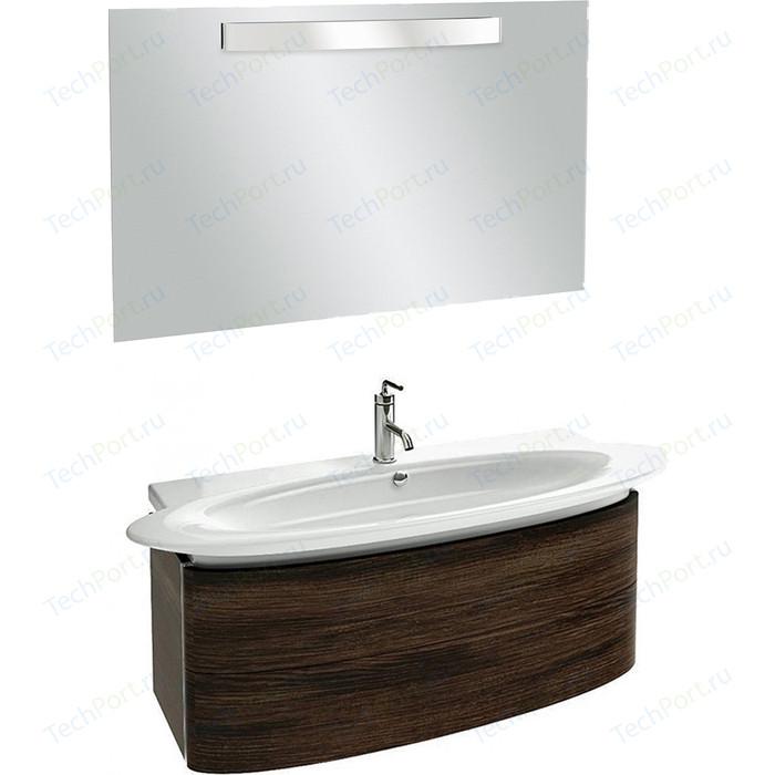 Мебель для ванной Jacob Delafon Presquile 130 палисандр шпон, 2 ящика