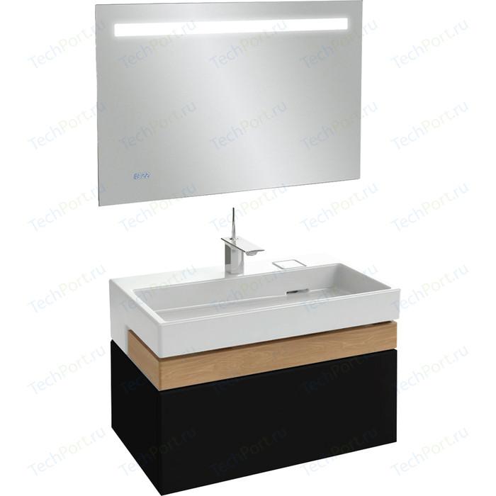 Мебель для ванной Jacob Delafon Terrace 100 черный лак