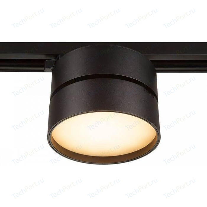 Трековый светодиодный светильник Maytoni TR007-1-18W3K-B