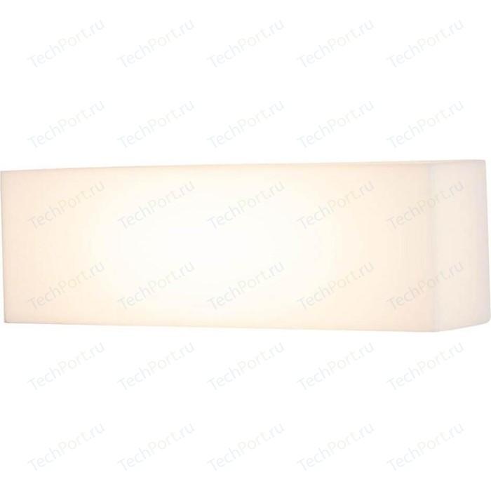 Уличный настенный светодиодный светильник Maytoni O009WL-L10S настенный светодиодный светильник maytoni c177wl l8w