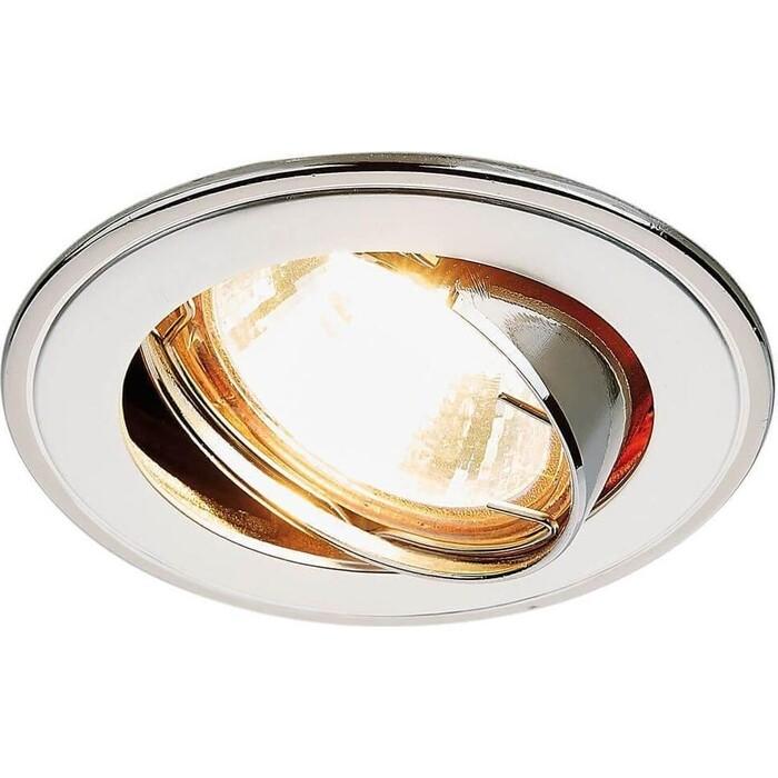 Встраиваемый светильник Ambrella light 104A PS/N ambrella встраиваемый светильник ambrella classic 104a sn g