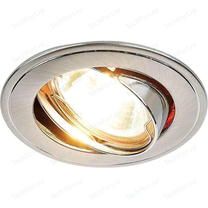 Встраиваемый светильник Ambrella light 104A SN/N ambrella встраиваемый светильник ambrella classic 104a sn g