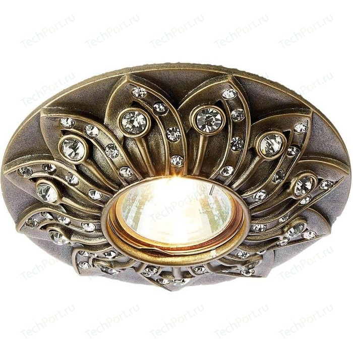 Встраиваемый светильник Ambrella light D4455 SB встраиваемый светильник ambrella light classic 120090 sb