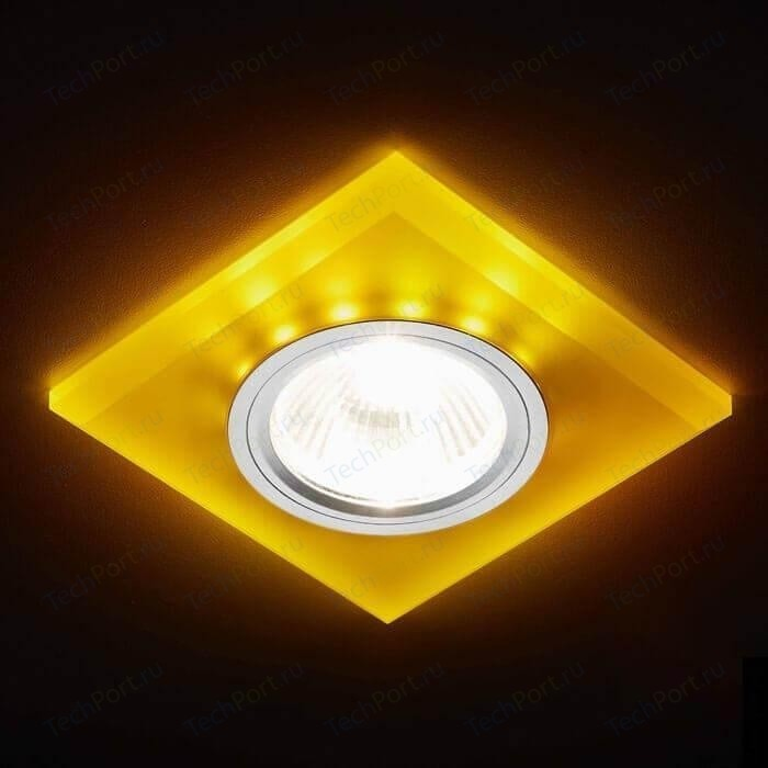 светильник ambrella light s214 wh ch wh led Встраиваемый светодиодный светильник Ambrella light S215 WH/CH/YL
