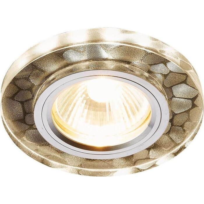 Встраиваемый светодиодный светильник Ambrella light S222 W/CH/WA