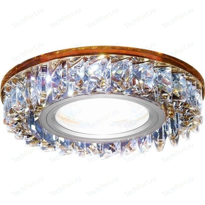 Фото - Встраиваемый светодиодный светильник Ambrella light S255 BR светильник ambrella light s255 ch led