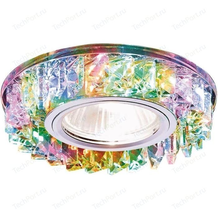 Встраиваемый светодиодный светильник Ambrella light S255 CH/M встраиваемый светильник ambrella light d1172 w ch