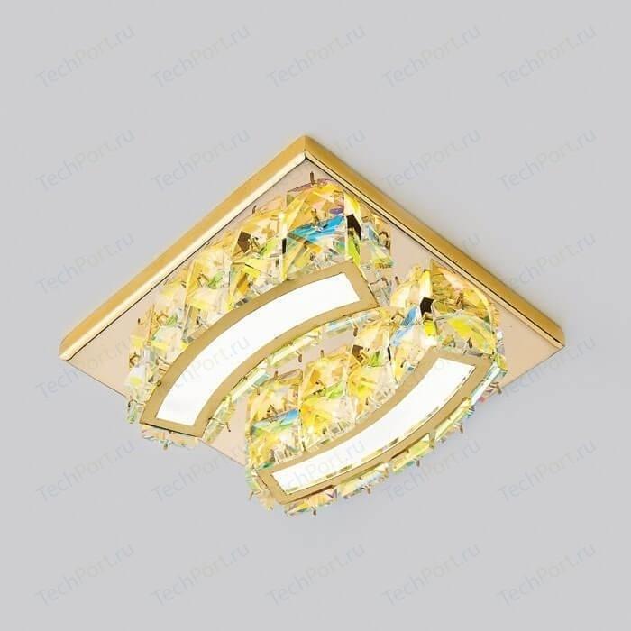 Встраиваемый светодиодный светильник Ambrella light S70 PR/G 4W 4200K LED