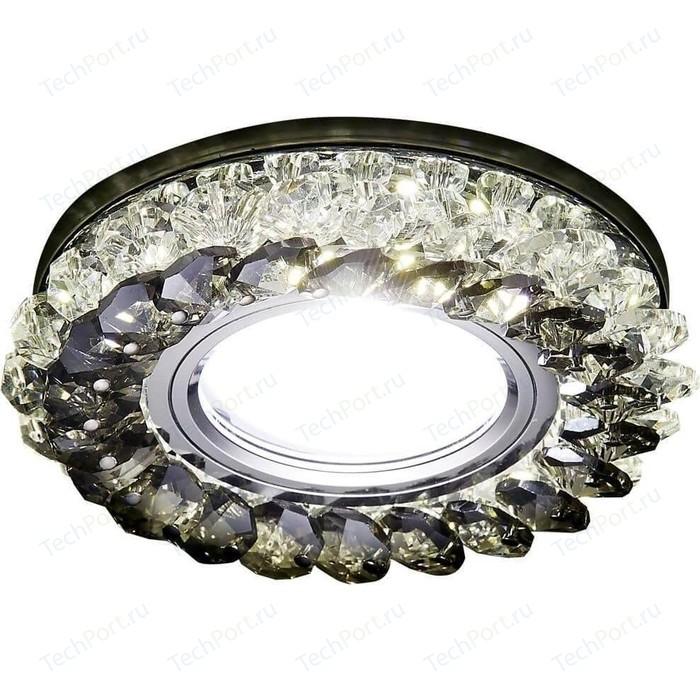 Встраиваемый светодиодный светильник Ambrella light S701 CL/GD/WH