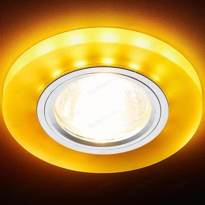 Встраиваемый светодиодный светильник Ambrella light S214 WH/CH/YL