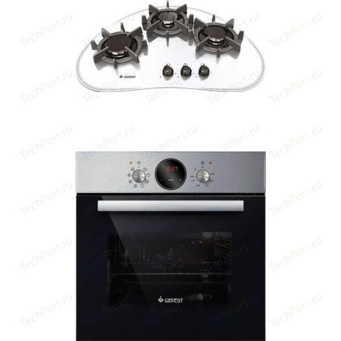 Встраиваемый комплект GEFEST СН 2120 К6 + ДА 602-02 Н1