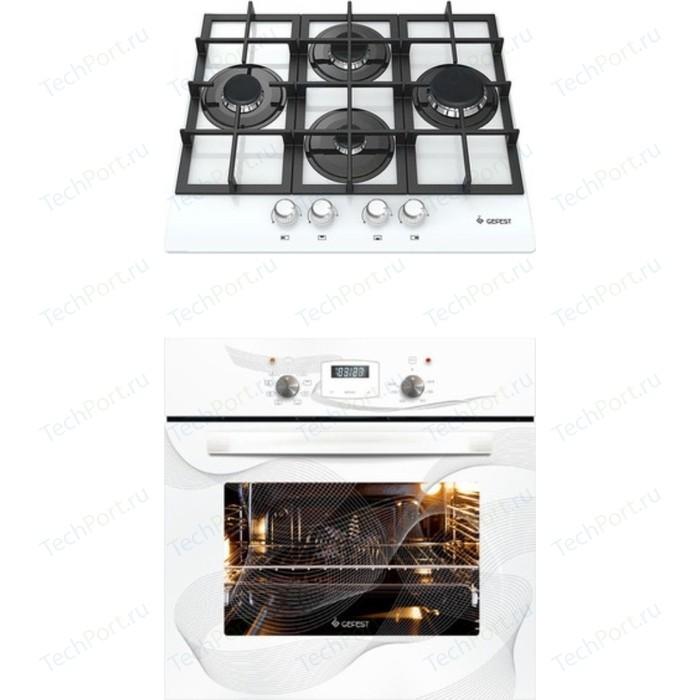 Встраиваемый комплект GEFEST 2231-05 К12 + ДА 622-02 К28 электрический шкаф gefest 622 02 к28 белый