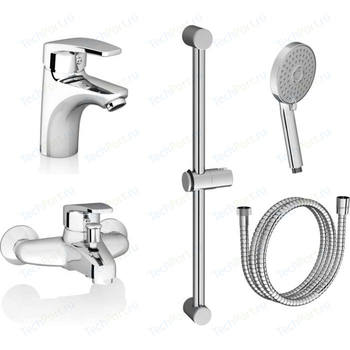Комплект смесителей Ravak SET Neo для раковины, ванны, душевой гарнитур (70508016)
