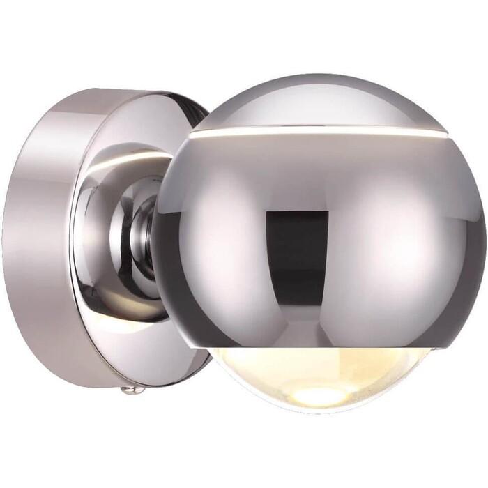 Фото - Настенный светодиодный светильник Odeon 3914/9WL подсветка для картин odeon 4180 9wl