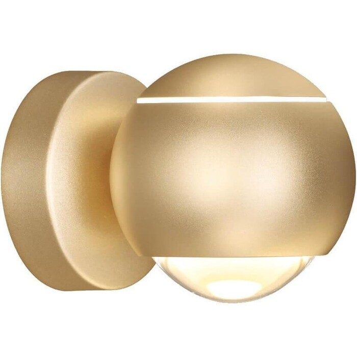 Фото - Настенный светодиодный светильник Odeon 3915/9WL подсветка для картин odeon 4180 9wl
