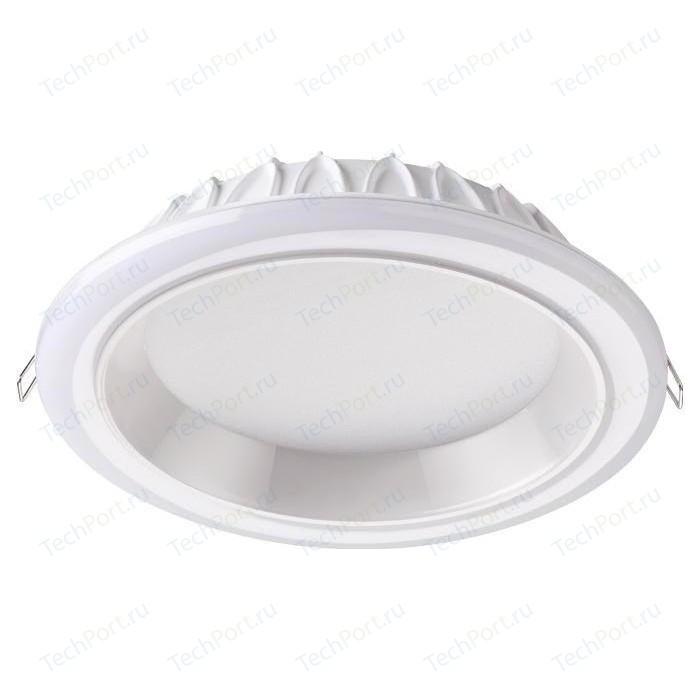 Встраиваемый светодиодный светильник Novotech 358281 встраиваемый светодиодный светильник novotech 357997