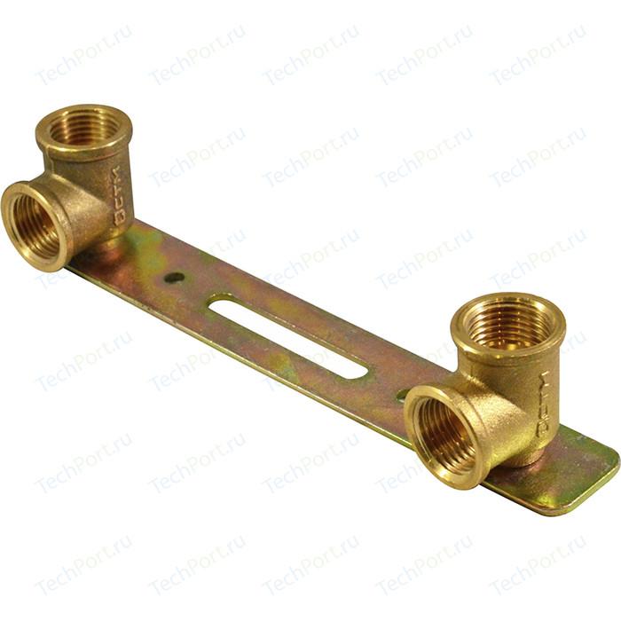 Уголок СТМ на планке для крепления смесителя 1/2 гайка/гайка (CRLWP012)