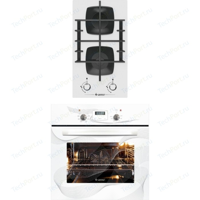 Встраиваемый комплект GEFEST 2003 К12 + ДА 622-02 К28 электрический шкаф gefest 622 02 к28 белый