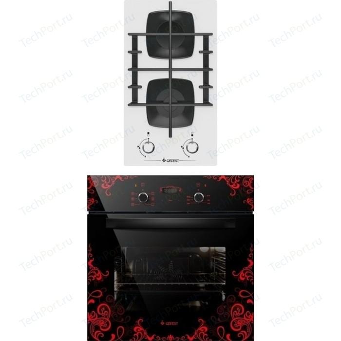 Встраиваемый комплект GEFEST 2003 К12 + ДА 622-02 К16 встраиваемый комплект gefest 2340 к12 да 622 02 к16